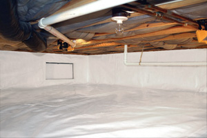 Crawl Space Repair After in Bethesda